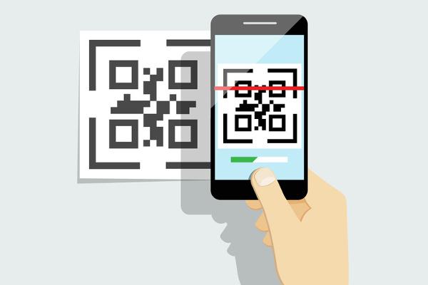 Exemple de pointage avec le mobile