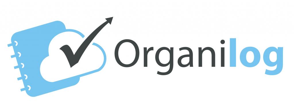 Logo Organilog Blanc (icône à gauche)