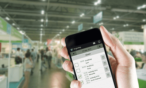 Application mobile Organilog pour les commerciaux