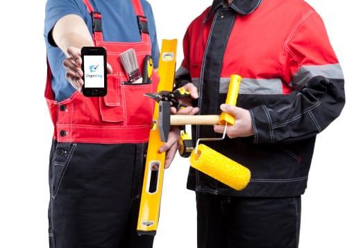 Application mobile Organilog pour travailleurs du BTP