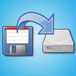 Migration de la disquette au disque dur