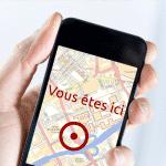 Géolocalisation sur les téléphones mobiles