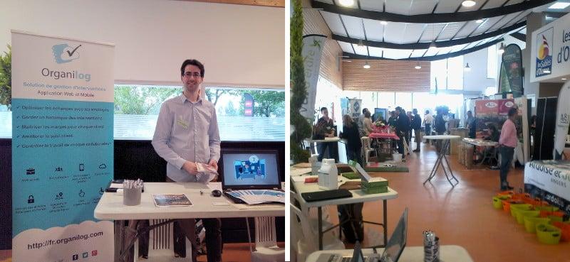 Stand Organilog à la journée professionnelle UNEP 2015