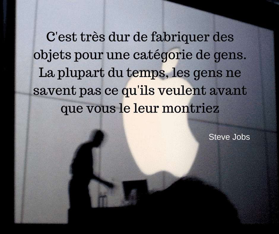 Citation Steve Jobs