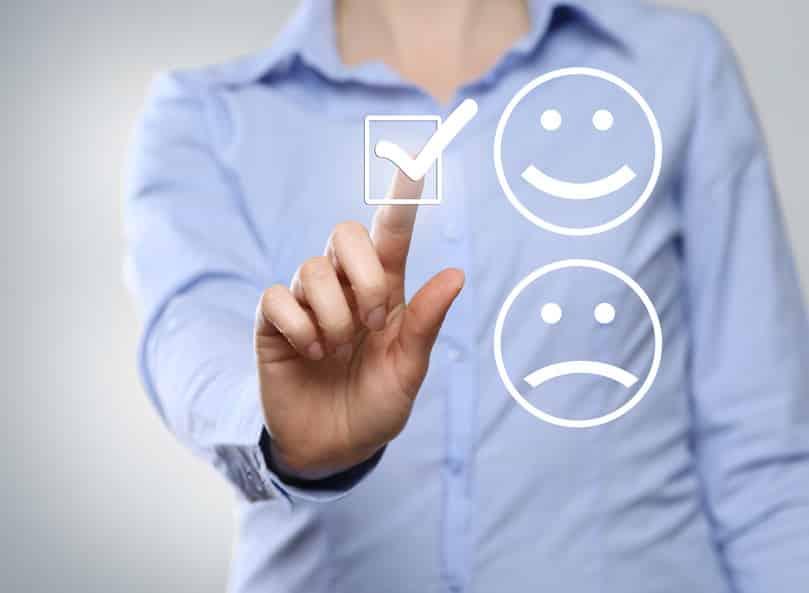 Choix de satisfaction client