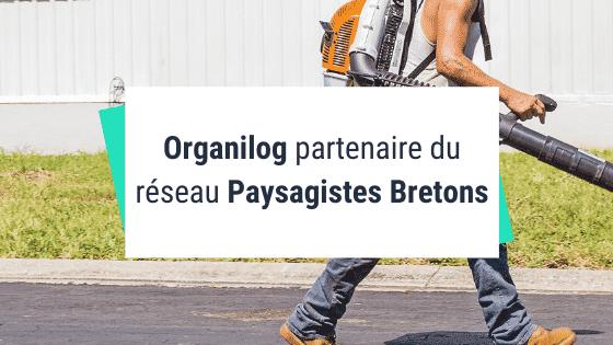 Organilog partenaire du réseau Paysagistes Bretons