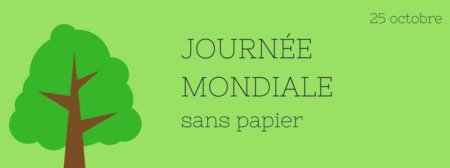 Journée mondiale sans papier